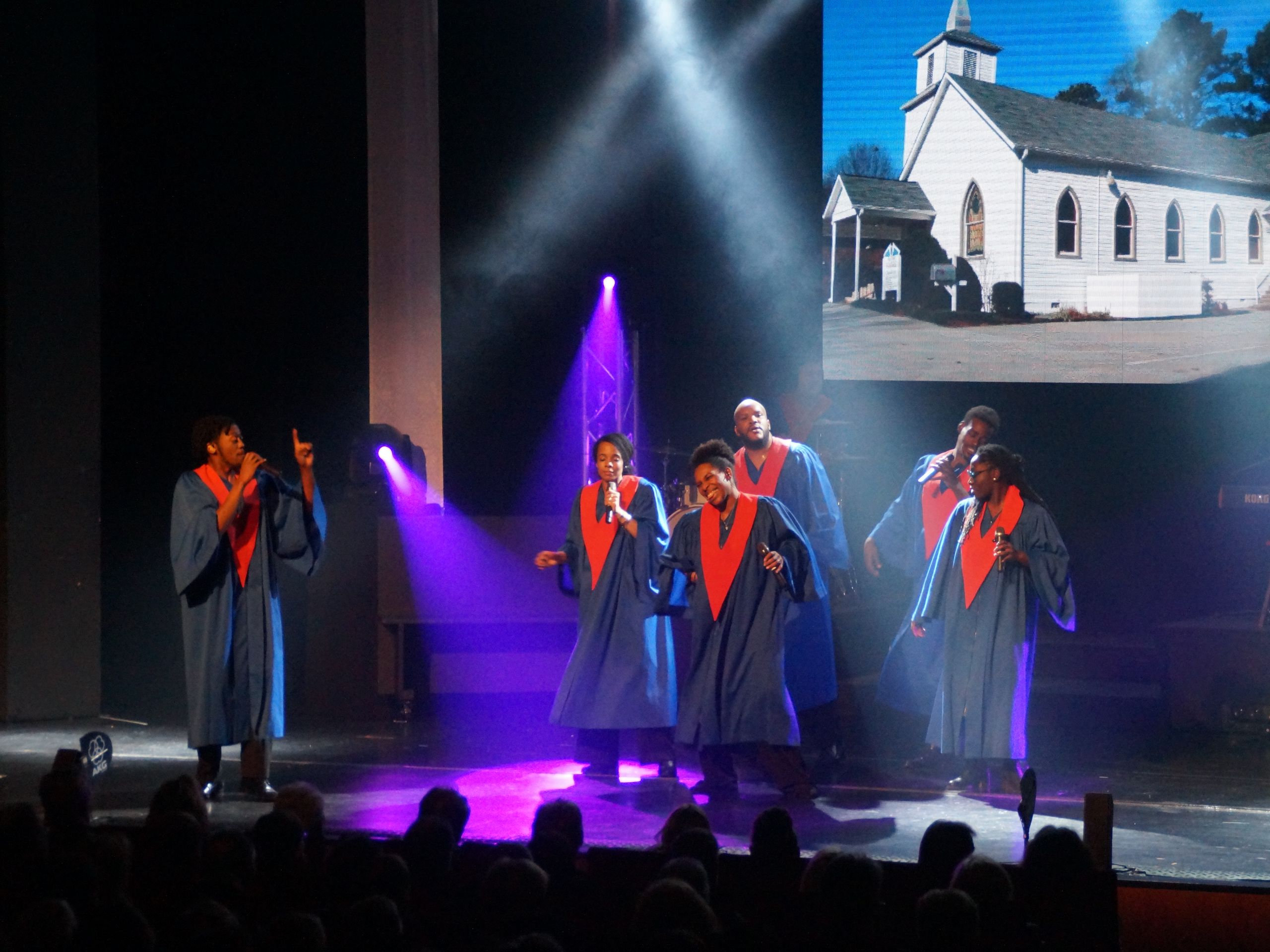 The USA Gospel Singers & Band